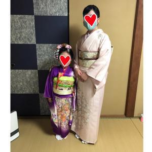 11/15七五三で日本髪