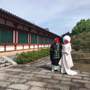 仏前式の婚礼