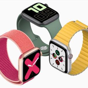 Apple Watch Series 5 ポッチとな、