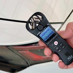 ZOOM H1n でモンキー125の走行音を録音してみた!