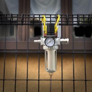 エアフィルターレギュレーターを導入したけど水が、