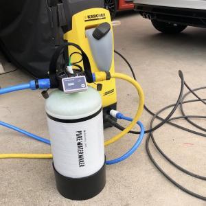 洗車用純水器を使ってみての感想