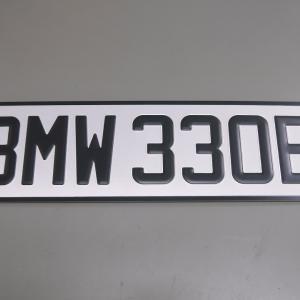 BMW ユーロナンバー取り付け加工!! (・`▽´・ ;)!!