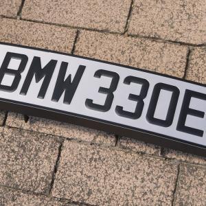 BMW ユーロナンバー完成!! (・`▽´・ ;)!!