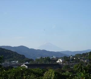 ここから見る富士山!