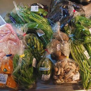 南丹の産直野菜・魚と総菜で家飲みの幸せ♪