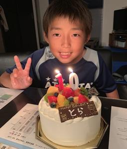 10歳 お誕生日おめでとう!!