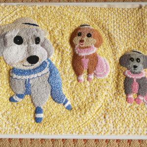 刺繍~3兄妹