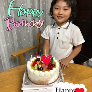 祝☆三男誕生日☆5歳