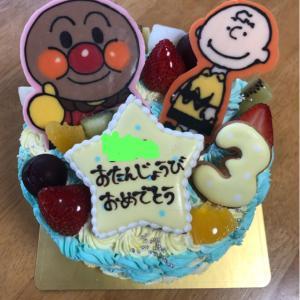 キャラケーキ☆誕生日☆3歳