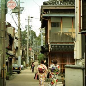 戦前の商店建築 (石川県金沢市東山)
