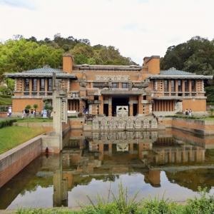旧帝国ホテル・外観 (明治村・愛知県犬山市)
