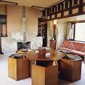 旧山邑家住宅の応接室 (ヨドコウ迎賓館・兵庫県芦屋市)