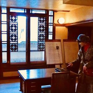 旧山邑家住宅の旧寝室 (ヨドコウ迎賓館・兵庫県芦屋市)