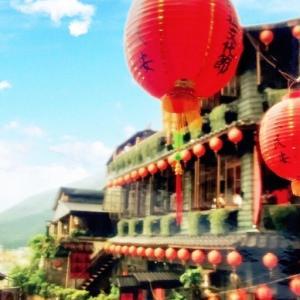 台湾九分カフェ巡り(2002.5)