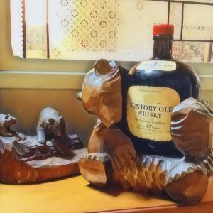 サントリーオールド専用抱き熊