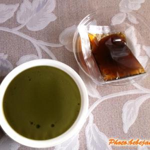 豆政 京のお豆腐ぷりん 抹茶風味