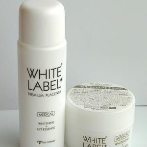 ミックコスモ ホワイトラベルプラス 薬用プラセンタ 美白リフト美容水&クリーム