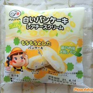 不二家 白いパンケーキ レアチーズクリーム 瀬戸内産レモン