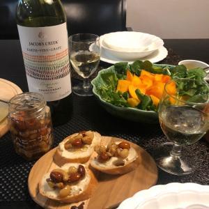 jacobscreek の白ワインに合う晩ご飯