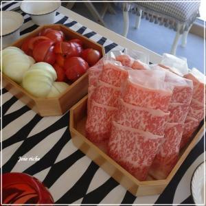 トマトすき焼きレッスン