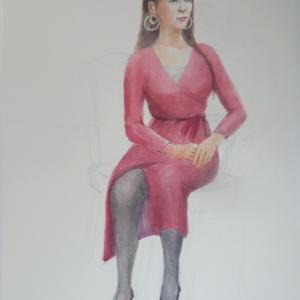 魅惑的なドレス
