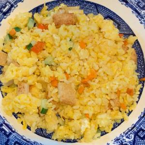 和歌山の丸天の炒飯