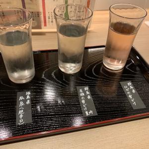 日本酒続々、えらべる日本酒増殖中、はらっぱ「鮨一輝」さんで一献