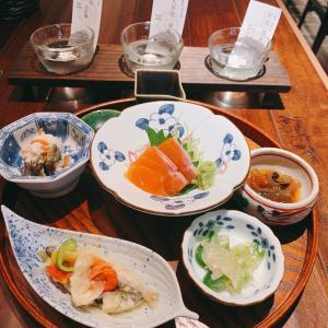 日比谷okurojjiではしご酒、朝11時から日本酒、ワインで一献できる「あてによる」さんで一献