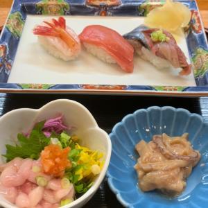 てくてく歩きではしご酒、その2、昼から呑める、「酔いのいちセット」がお得な富貴寿司さん