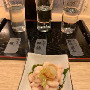 宮城の生牡蠣も食べられる、鮨一輝さんで一献