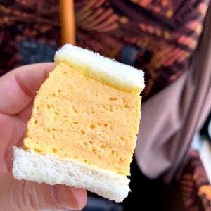大阪、a1ベーカリーさんの厚焼き玉子サンド