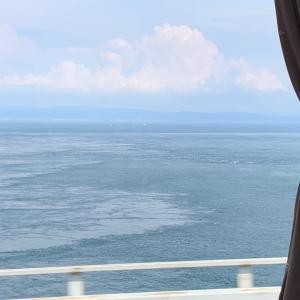 高速バスで瀬戸内海横断