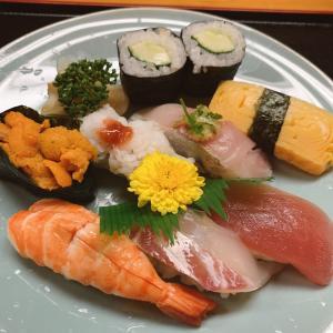 烏丸御池、「いさみ寿司」さんでお得な数量限定にぎり寿司セット