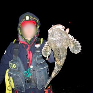 晩秋のカジカ釣り