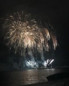 久里浜の花火
