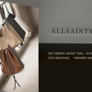 ALLSAINTS(オールセインツ)のバケツ型バッグを愛用中☆2019年はゼブラ柄も登場♪