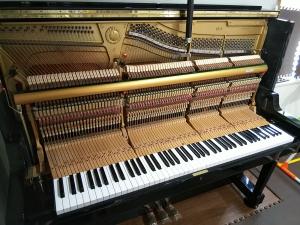 中古ピアノの納品調律 その2