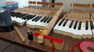 グランドピアノのオーバーホール その3