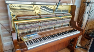 中古ピアノの納品調律