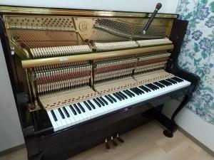 ピアノ教室にて
