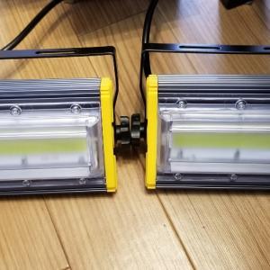 新しいLED投光器