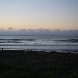 台風からの波を頂きました