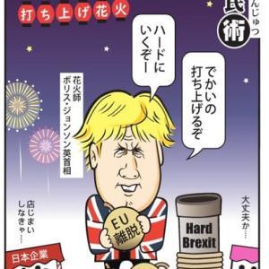 経世済民術  サヨナラEU?!打ち上げ花火  / 毎日新聞