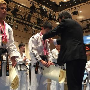 第30回全日本フルコンタクトテコンドー選手権大会 表彰式