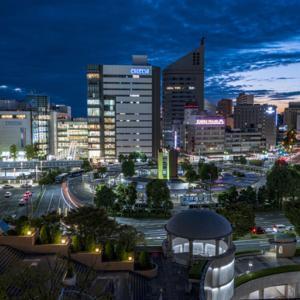 浜松駅前夜景