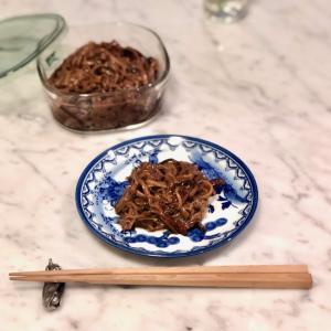 ★「まごわやさしい」の「し」 - 保存食 自家製なめたけ (えのき茸の佃煮)