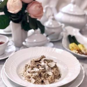 ★簡単最強コンビ 発芽玄米と干し椎茸のリゾット - レシピ付