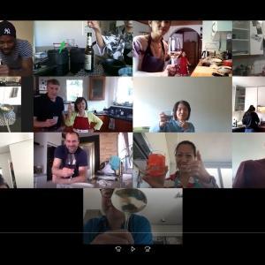 週末、Zoomによるオンライン和食教室第2弾を実施しました。