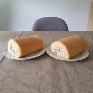 週末、オンライン和食教室第4弾(ロールケーキ)を実施しました。ご参加の方々からの写真を掲載させていただきました。